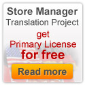 Get Primary License for Store Manager for Translation for Free!